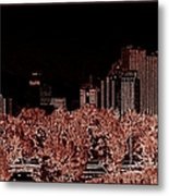 Reno Night Life Metal Print