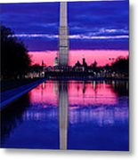 Repairing The Monument I Metal Print