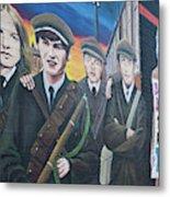 Republican Murals Against British Rule Metal Print