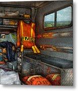 Rescue - Emergency Squad  Metal Print