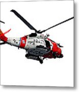 Rescue Helecopter Metal Print