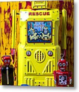 Rescue Robot Metal Print