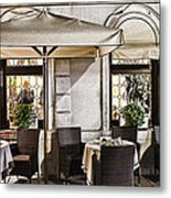Reservations Only Venice Italy Metal Print