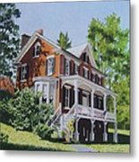 Residence In Sussex County Metal Print