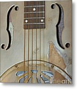 Resonator Detail Metal Print