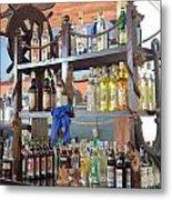 Resort Cantina Bar Wine-liquor-beer Metal Print