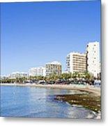 Resort City Of Marbella In Spain Metal Print