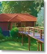 Resort Spa Metal Print