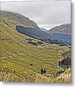 Rest And Be Thankful Pass Metal Print