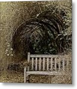 Rest And Reflect Metal Print