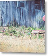 Rest Here Metal Print