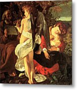 Rest On The Flight Into Egypt Metal Print