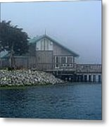 Restaurant With A Foggy View Metal Print