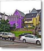 Restaurants In Lunenburg-ns Metal Print