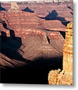 Restful Canyon Metal Print