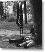 Resting At Gettysburg Metal Print
