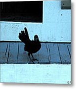 Resting On The Porch  Metal Print