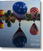 Resting On The Water Metal Print