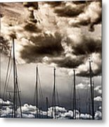 Resting Sailboats Metal Print by Stelios Kleanthous