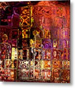 Restless Mind Metal Print by Sabine Stetson