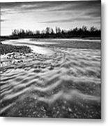 Restless River IIi Metal Print by Davorin Mance