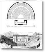 Restoration Of The Greek Theater Metal Print