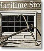 Restored Maritime Store Metal Print