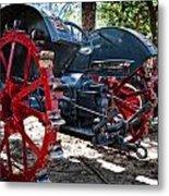 Restored Tractor Metal Print