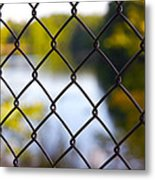 Restricted Access Metal Print