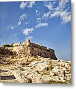 Rethymno Fortification Metal Print