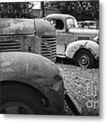 Retired Dodge Trucks Metal Print