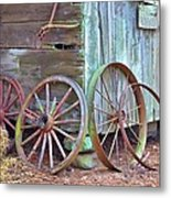 Retired Friends Metal Print