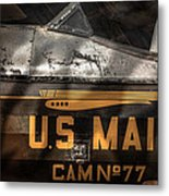 Retired Mail Carrier - Pitcairn P-6 Mailwing 1929 Metal Print