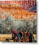 Retired With A View Metal Print