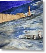 Retreat Of The Waters Metal Print