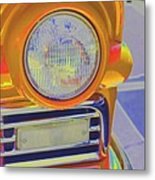 Retro Auto Two Metal Print