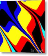 Retro Days Metal Print