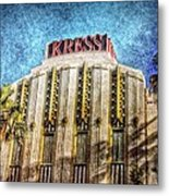 Retro Kress Metal Print