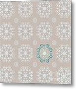 Retro Wallpaper Metal Print