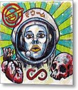 Return Of The Astro-goth Metal Print