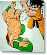 Return Of Vegeta Metal Print