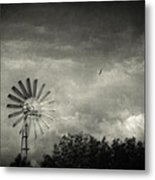 Return Metal Print
