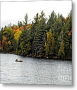 Returning From A Canoe Trip Metal Print