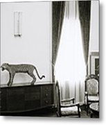 Reunification Palace In Saigon Metal Print