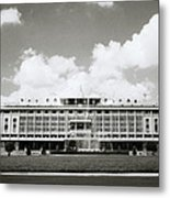 Reunification Palace Saigon Metal Print