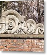 Reused Architectural Salvage Metal Print