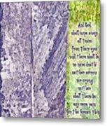 Revelation 21 4 Metal Print