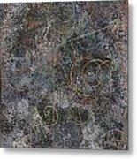 Revelations Vi--space Time Brocade Metal Print