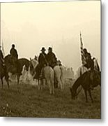 Reviewing The Troops I - Perryville Ky Metal Print