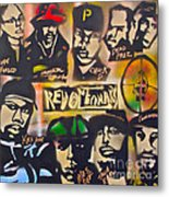 Revolutionary Hip Hop Metal Print